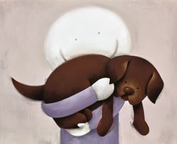 Love Hug by Doug Hyde - Limited Edition on Paper sized 17x14 inches. Available from Whitewall Galleries